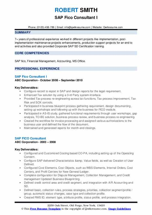 sap fico consultant resume samples qwikresume sample for years experience pdf bordeaux Resume Sample Resume For Sap Fico Consultant 4 Years Experience