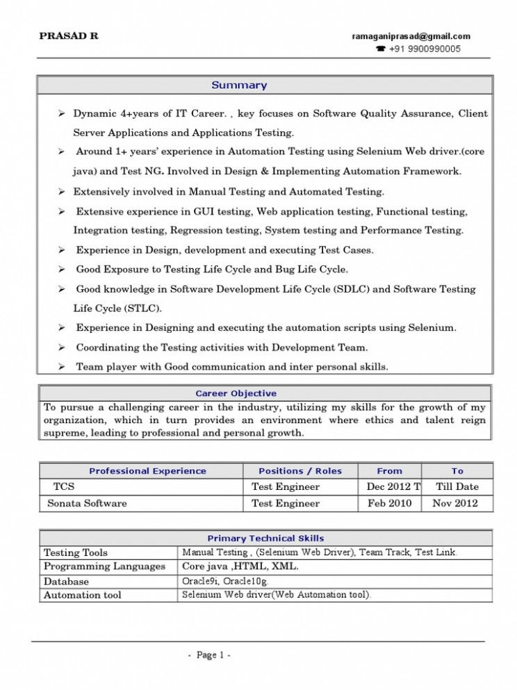 selenium fundamental resume di automation sample professional layout ready format outdoor Resume Selenium Automation Sample Resume
