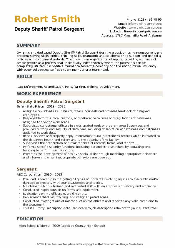 sergeant resume samples qwikresume first civilian pdf personal security detail holder Resume First Sergeant Civilian Resume