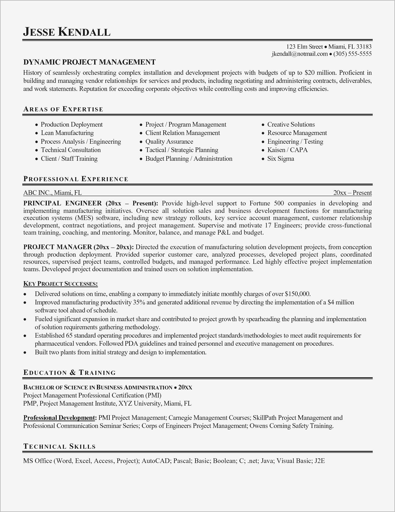 technical project manager resume management resumes professional construction objective Resume Deployment Manager Resume