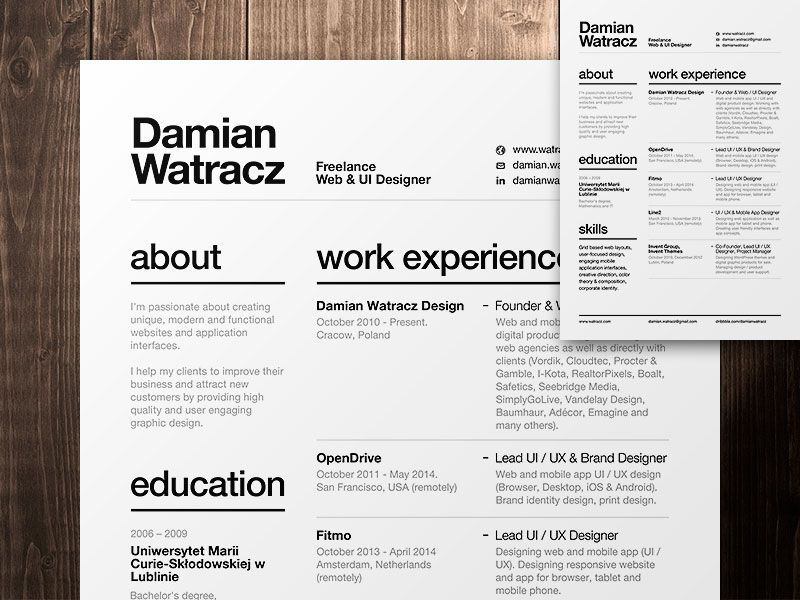 the essential elements of creative resume design highly organized essentials registered Resume Highly Organized Resume