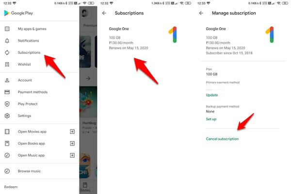 to cancel pause resume google play subscriptions mashtips help subscription restart self Resume Resume Help Cancel Subscription