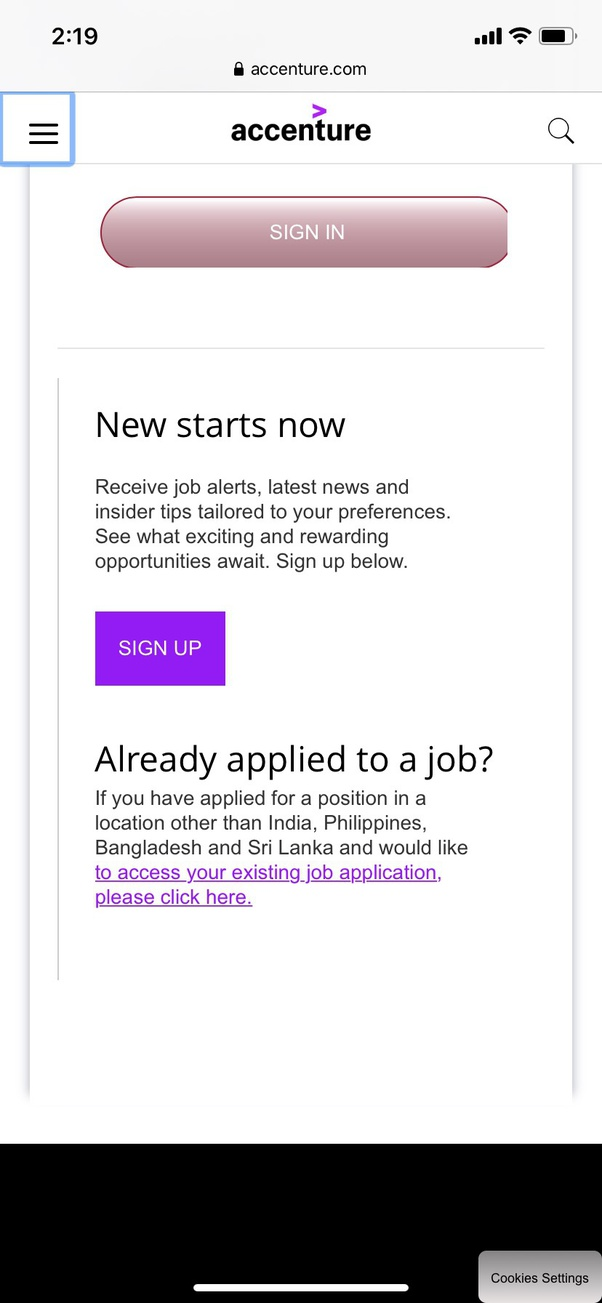 to edit my resume and upload it again in accenture job portal though already have profile Resume Please Upload Your Resume
