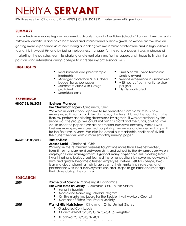 with resume for waitress job format restaurant or curriculum vitae accounting manager Resume Resume For Restaurant Waitress