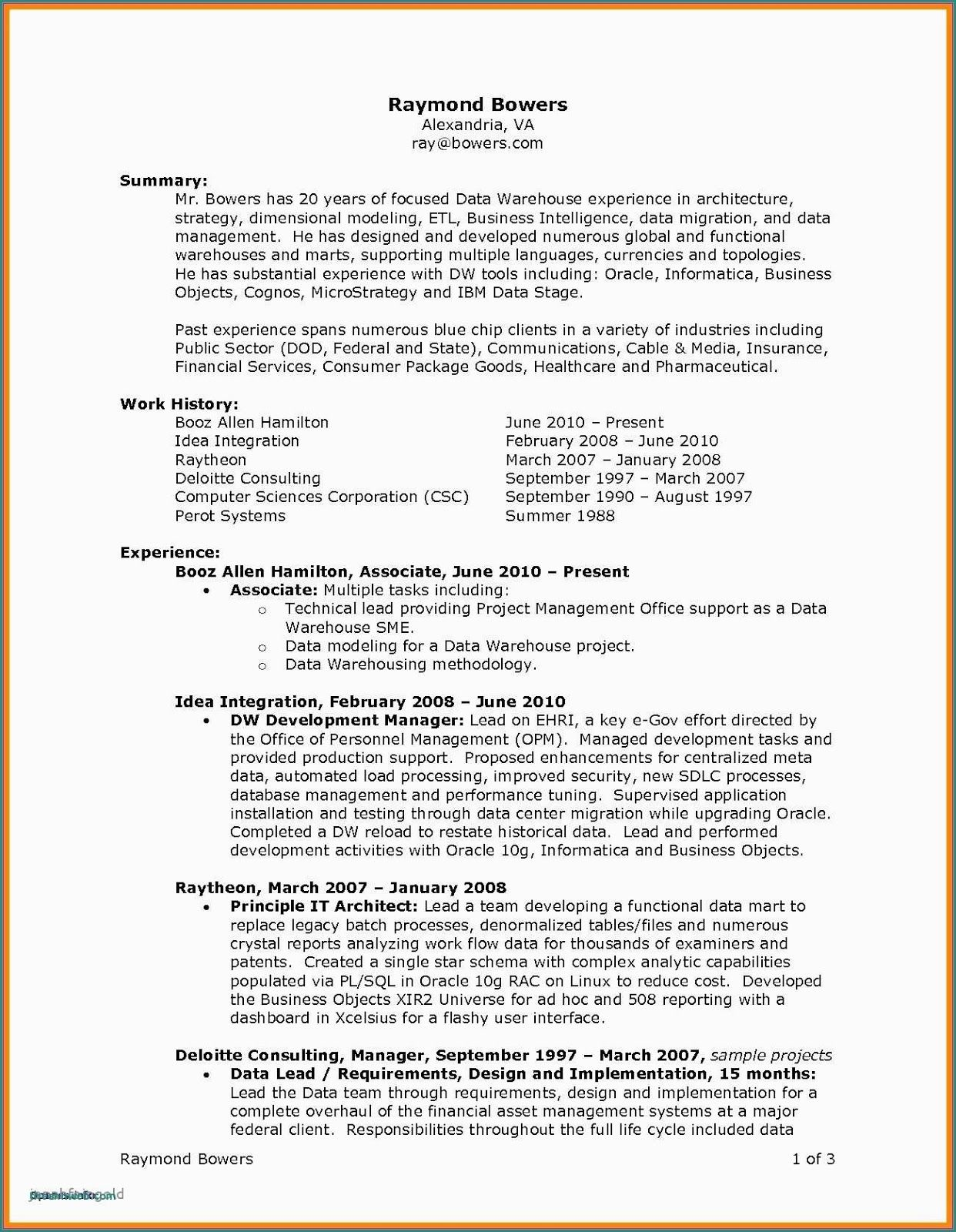 academic resume sample pdf best template business intelligence objective examples Resume Resume Requirements 2019