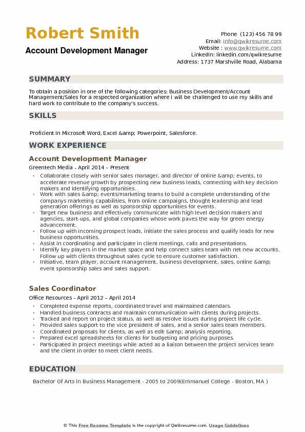 account development manager resume samples qwikresume business pdf good cover letter for Resume Business Development Manager Resume
