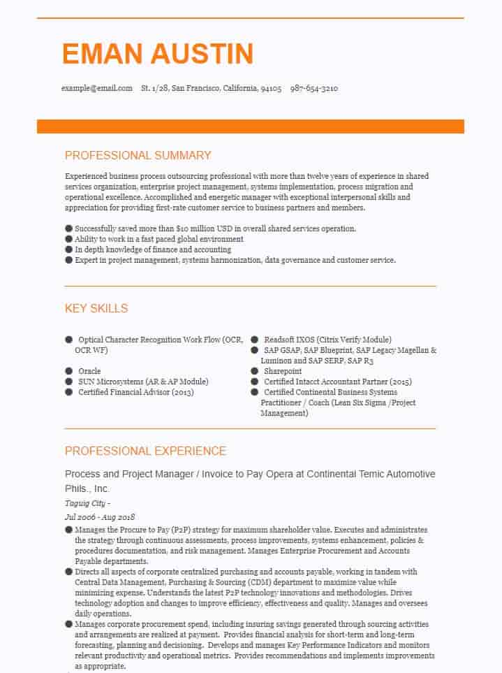 accounting finance resume examples summary for and example recommended free sample Resume Resume Summary Examples For Finance