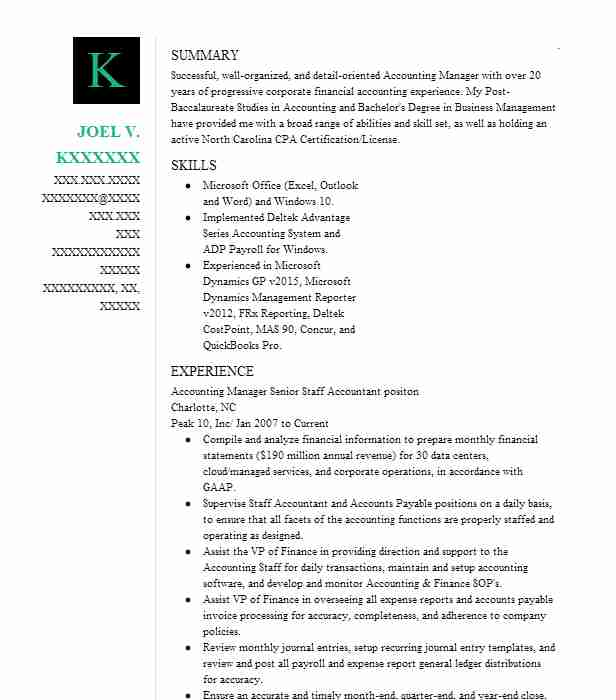 accounting outsourcing staff accountant resume example bkd llp enid outsource experience Resume Resume Outsource Experience