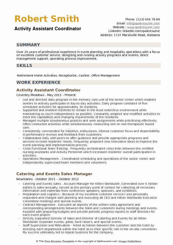 activity assistant resume samples qwikresume activities and honors sample pdf adobe Resume Activities And Honors Resume Sample
