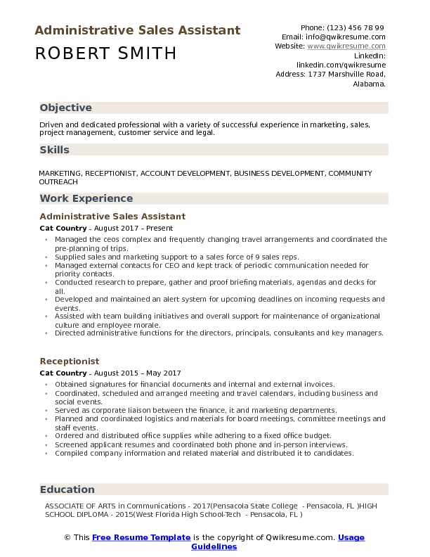 administrative assistant resume samples qwikresume jcpenney examples pdf perfect for high Resume Jcpenney Resume Examples