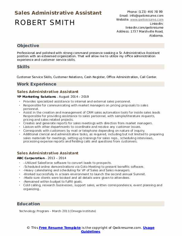 administrative assistant resume samples qwikresume summary example for an pdf the best Resume Resume Summary Example For An Administrative Assistant
