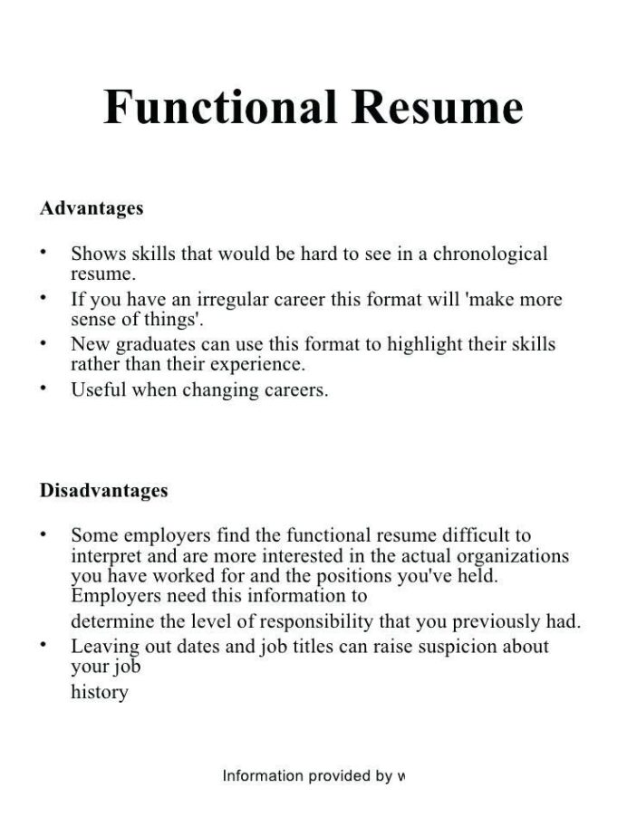 advantages of resume templates chronological template functional vs hybrid ecommerce Resume Functional Resume Vs Chronological Resume