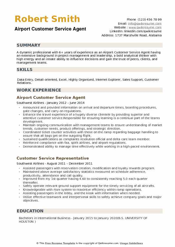 airport customer service agent resume samples qwikresume for ramp pdf firefighter Resume Resume For Airport Ramp Agent
