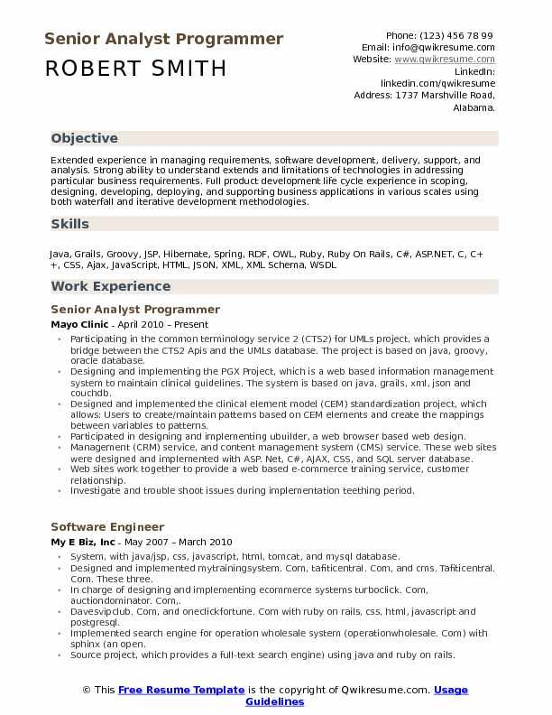 analyst programmer resume samples qwikresume examples pdf process improvement manager Resume Programmer Resume Examples
