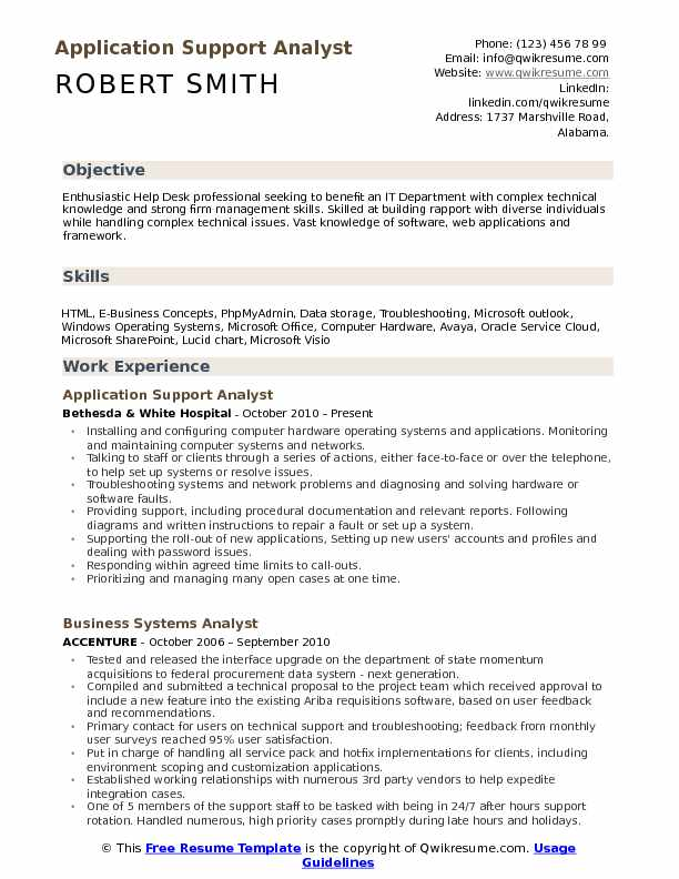 application support analyst resume samples qwikresume software applications pdf best Resume Software Application Support Resume