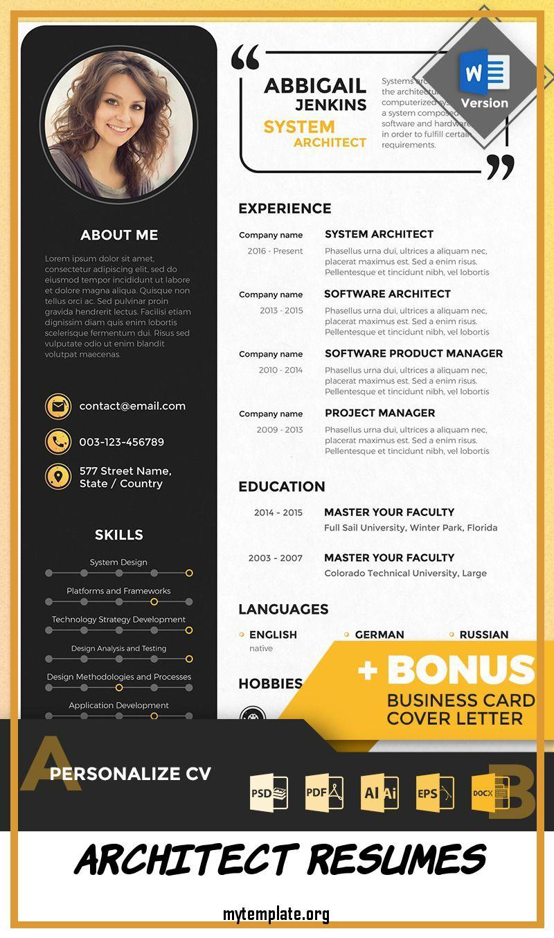 architect resumes free templates architecture resume template of abbigail system pin Resume Architecture Resume Template