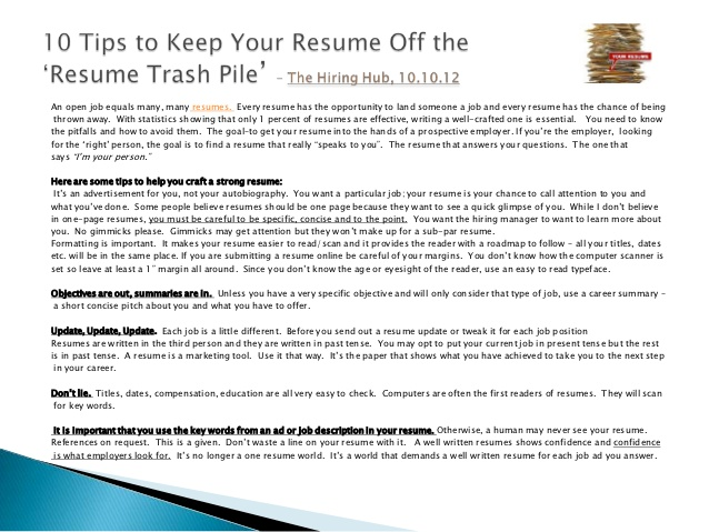 ask the recruiter resume writing tips current job tense muse review and cover letter Resume Resume Current Job Tense