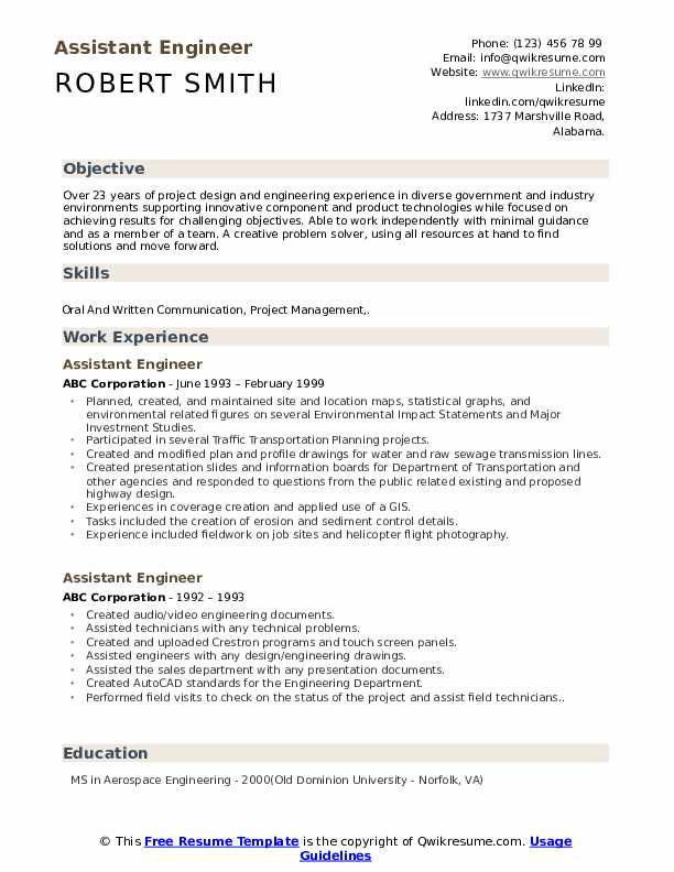 assistant engineer resume samples qwikresume objective examples pdf entertainment Resume Engineer Resume Objective Examples