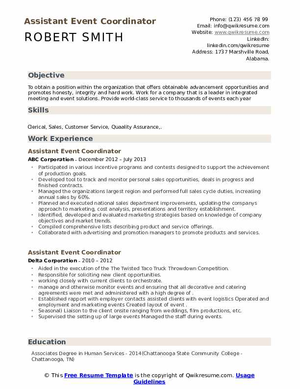 assistant event coordinator resume samples qwikresume special events pdf steel fixer Resume Special Events Coordinator Resume