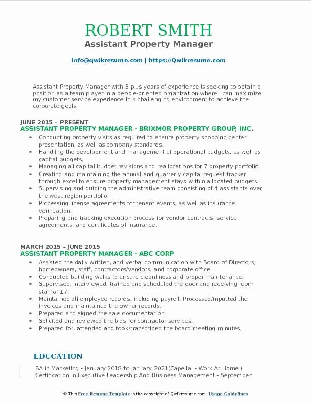 assistant property manager resume lovely samples in teacher english high school job Resume Assistant Property Manager Resume
