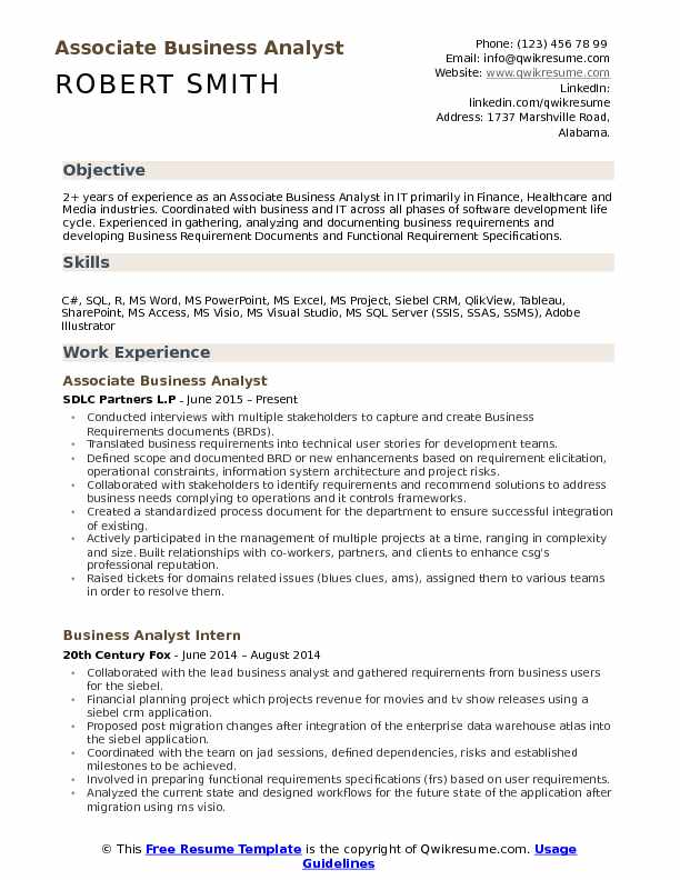 associate business analyst resume samples qwikresume with testing experience pdf commis Resume Business Analyst Resume With Testing Experience