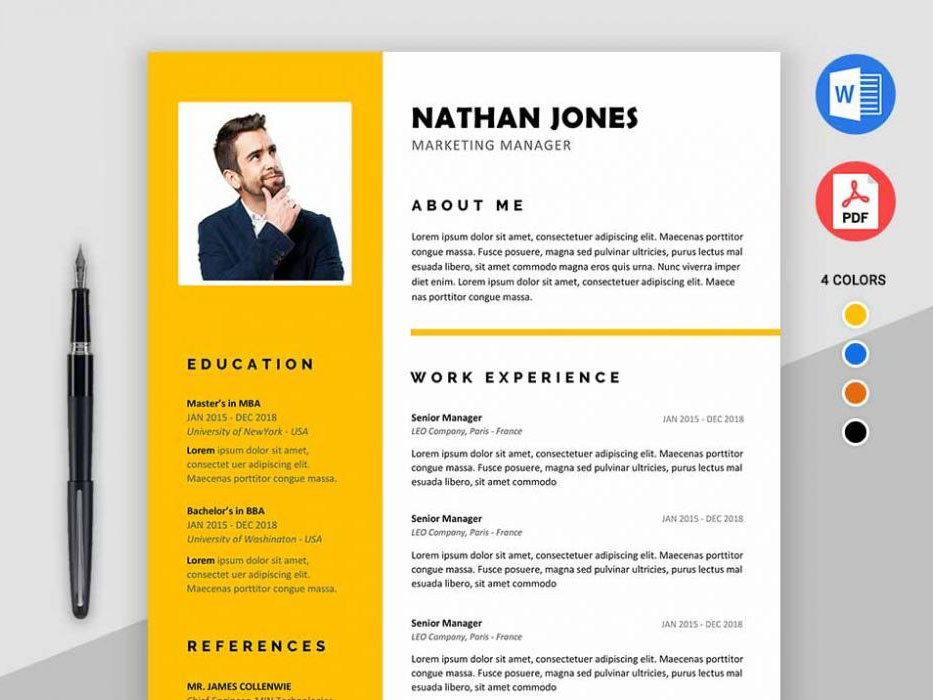 assure resume free modern template for ms word templates 1000x700 sample director of Resume Free Modern Resume Templates For Word
