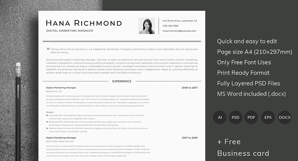 ats friendly resume template format guide sample cv templates should pay for preview Resume Should I Pay For A Resume