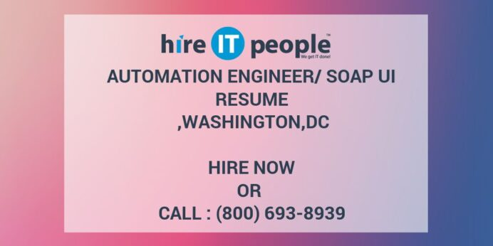 automation engineer soap ui resume hire it people we get done soapui testing points Resume Soapui Testing Resume Points