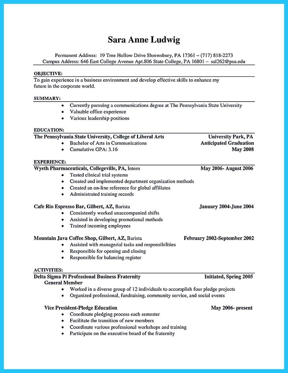awesome sophisticated barista resume sample that leads to jobs examples job samples Resume Starbucks Barista Job Description For Resume