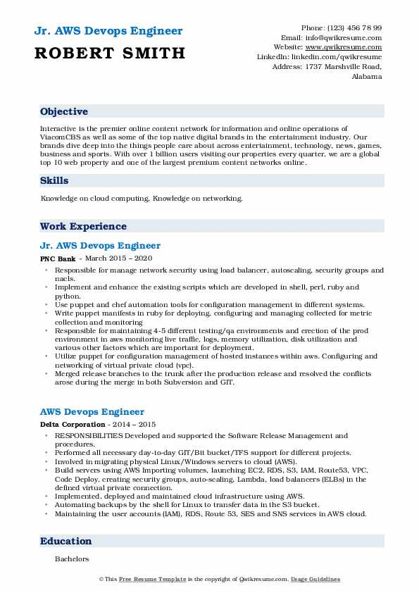 aws devops engineer resume samples qwikresume for year experience pdf collection Resume Aws Resume For 1 Year Experience