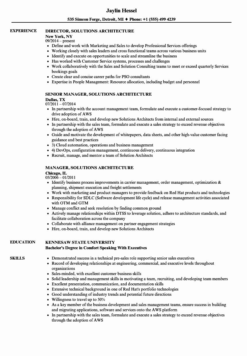 aws engineer resume unique solutions architecture samples in examples manager for year Resume Aws Resume For 1 Year Experience