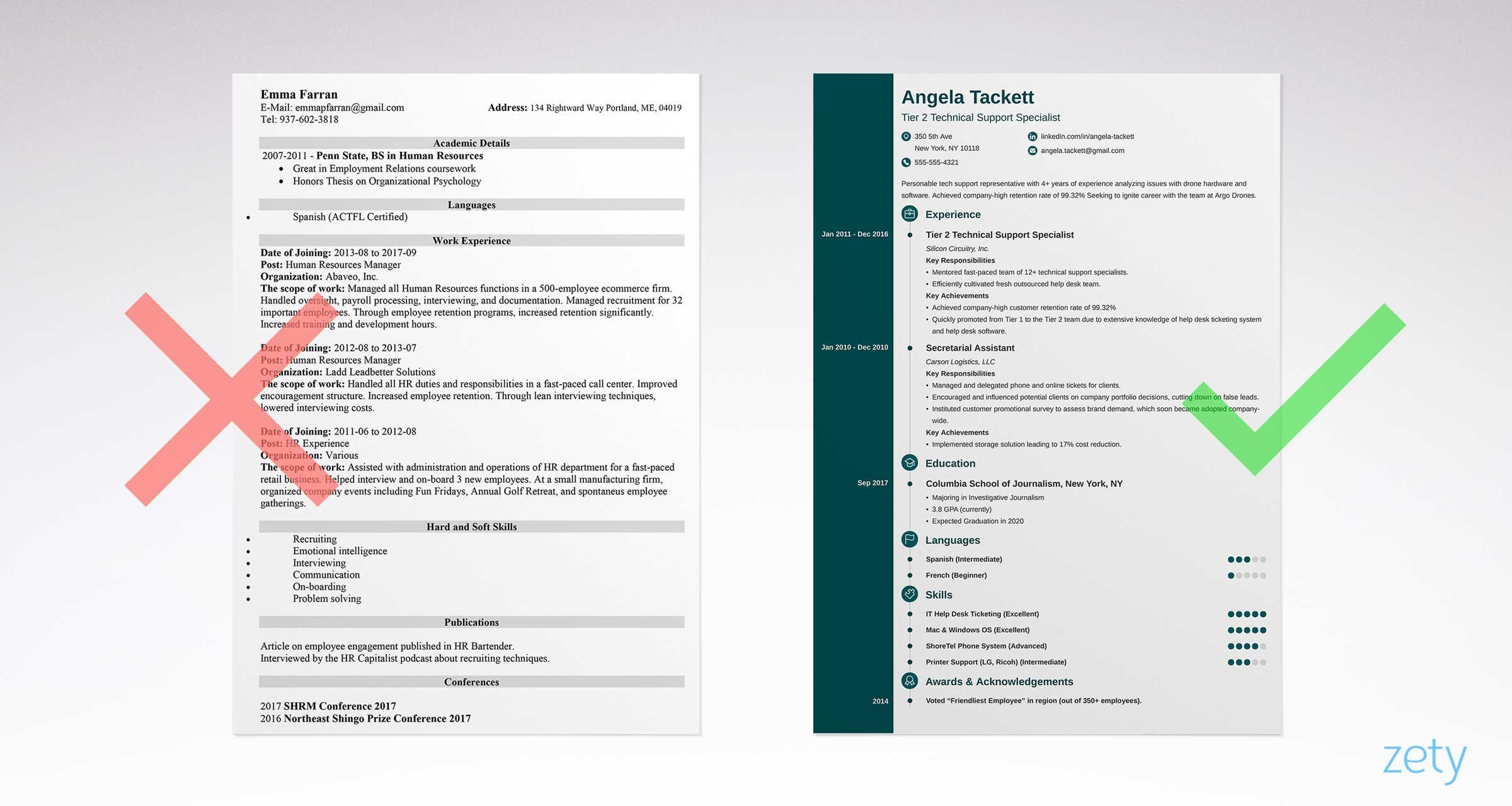 basic and simple resume template examples but effective templates military objective Resume Simple But Effective Resume
