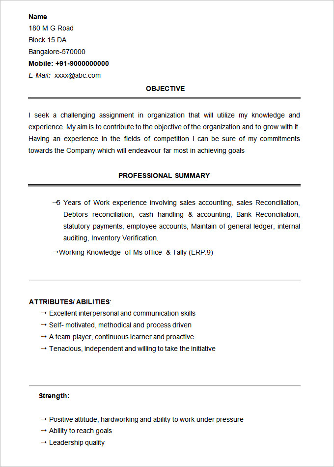 basic resume template of templates format for bsc students sample graduate net dental Resume Resume Format For Bsc Students