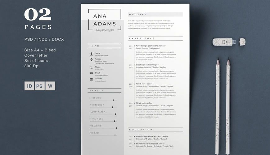 beautiful free resume templates for designers matching cover letter and template autofill Resume Free Matching Cover Letter And Resume Templates