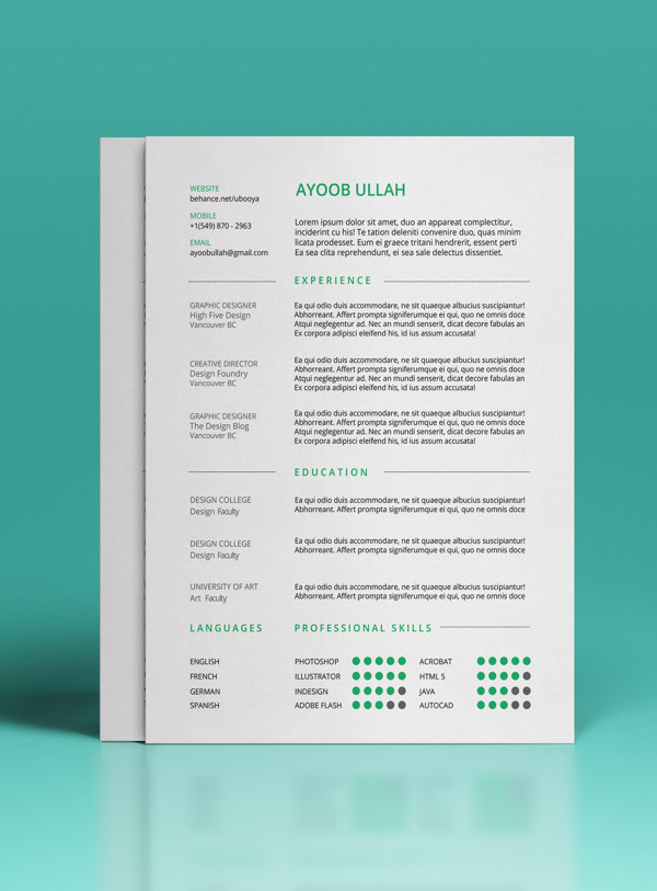 beautiful résumé designs you ll want to steal resume templates enhanced computer Resume Beautiful Resume Templates Download