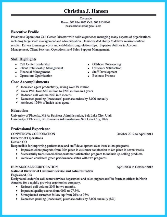 best call center resume sample good objective for academic another word ability on senior Resume Call Center Resume Sample
