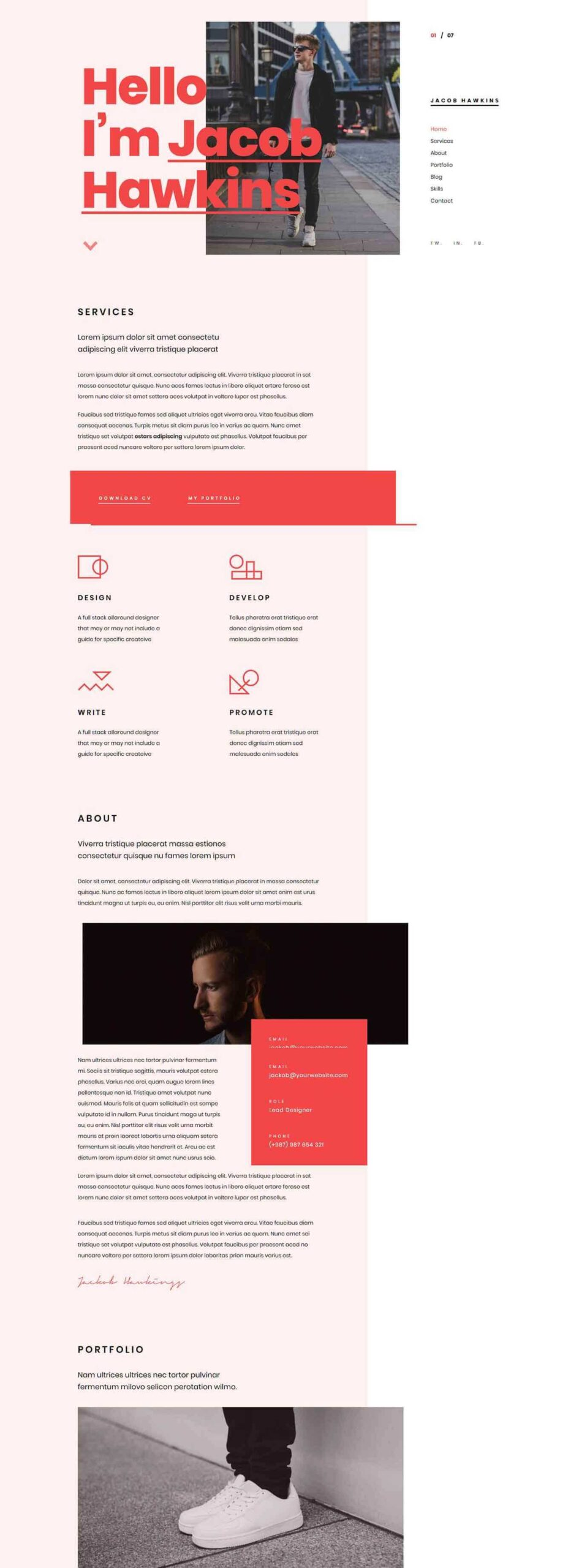 best cv and resume wordpress themes free premium theme awesome funny le petit prince Resume Best Free Wordpress Resume Themes