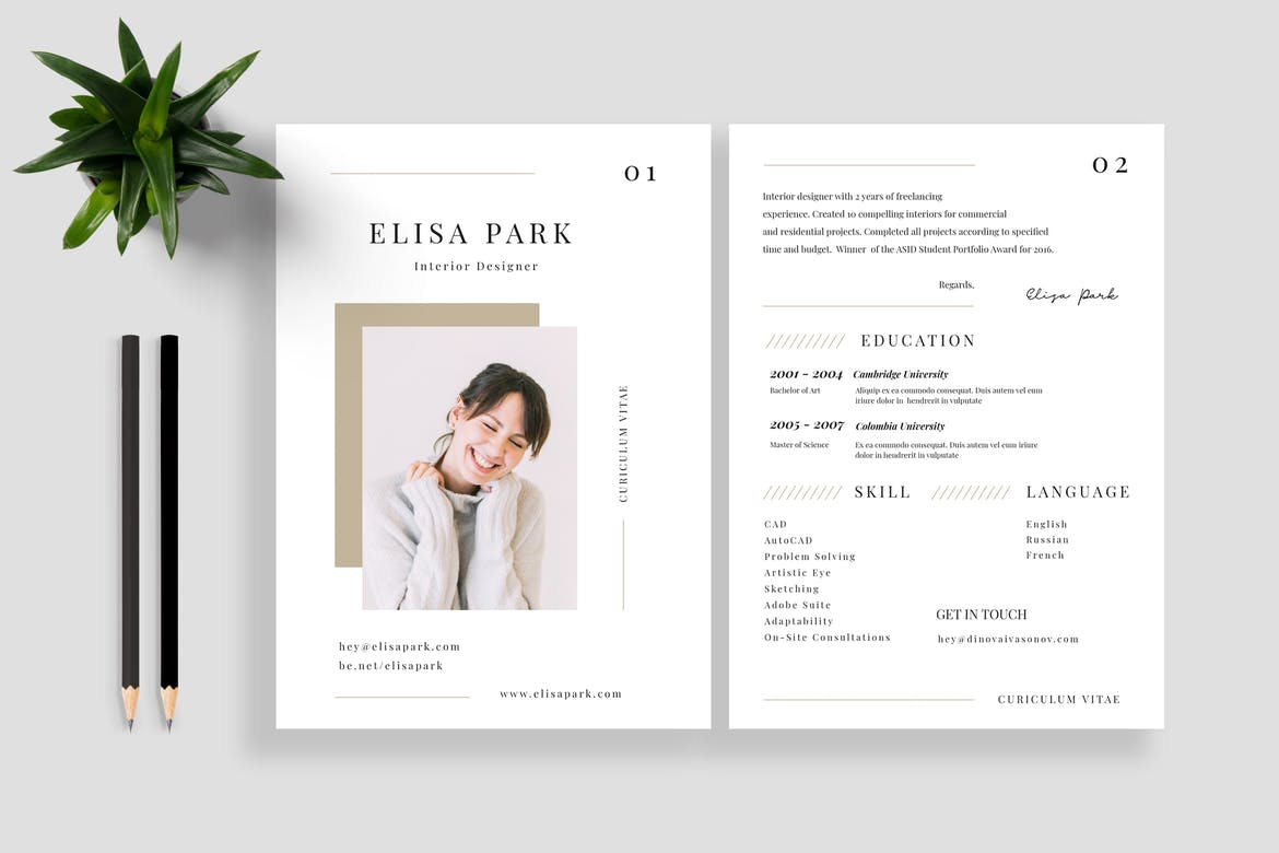 best cv resume templates theme creative examples language on example jeff the career Resume Creative Resume Examples 2020