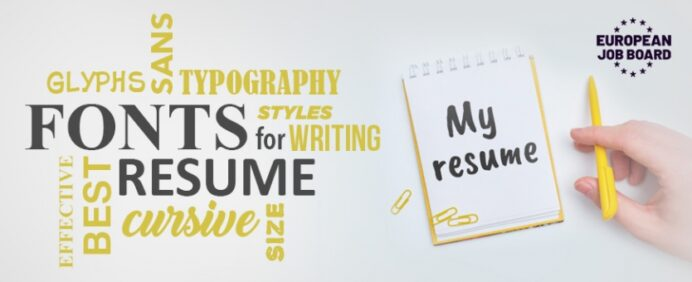 best font size and type for effective resume writing fonts medical school bartender Resume Effective Resume Writing