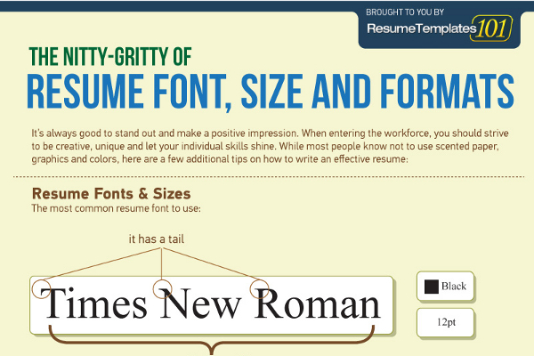 best fonts and proper font size for resumes brandongaille resume instructions cna Resume Best Font Size For Resume