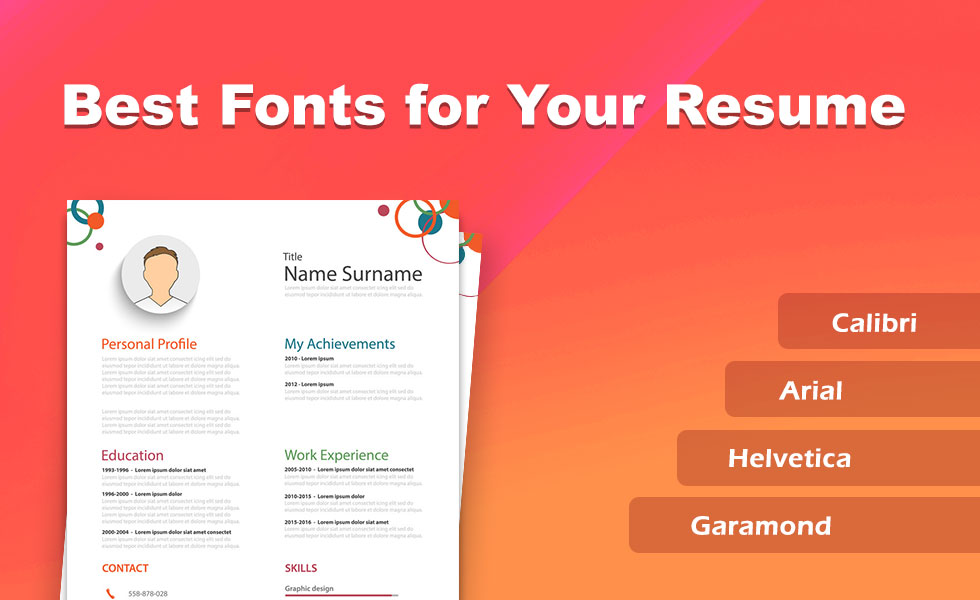 best fonts and size to use on your resume setresume of font for nurse practitioner Resume Size Of Font For Resume