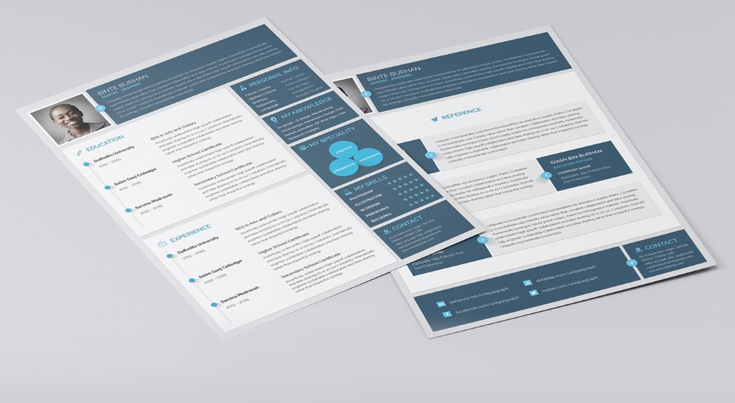 best free material design resume and cv templates uideck template resource motorsports Resume Material Design Resume Template Free