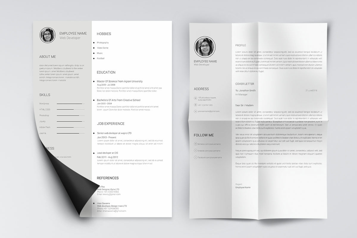 best free resume templates of minimalist template word minimal and clean director talent Resume Minimalist Resume Template Free Word