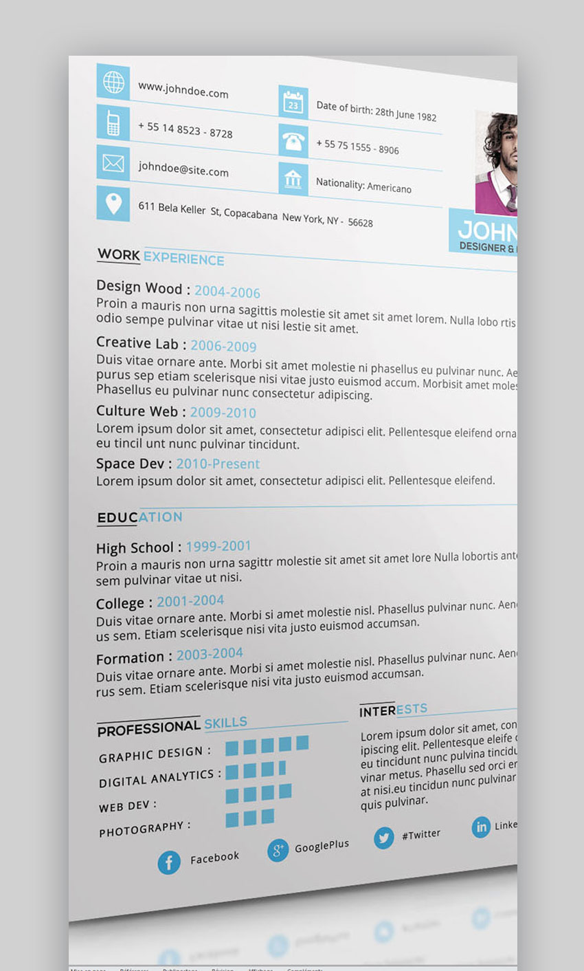 best job resume templates with simple professional examples but effective image8 basic Resume Simple But Effective Resume
