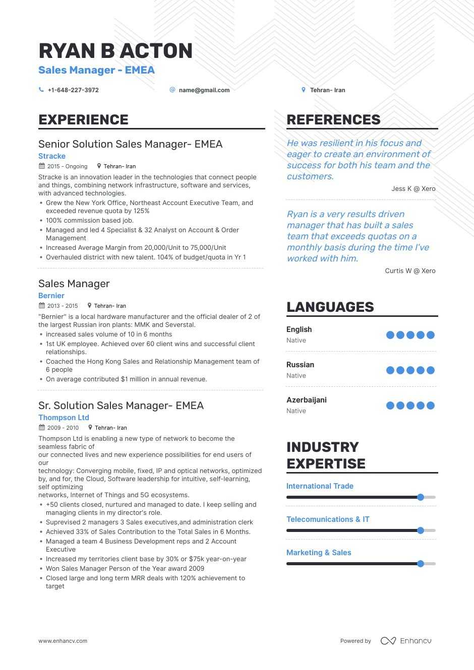 best manager resume examples with objectives skills templates volunteer objective venture Resume Volunteer Resume Objective