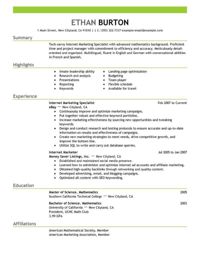 best marketer and social media resume example from professional writing service examples Resume Social Media Resume Examples