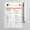 best one resume templates simple to use format examples template free indesign statement Resume Cascade Resume Template Free Download