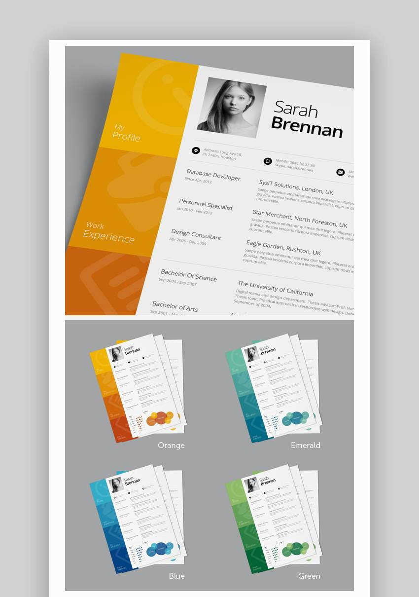best one resume templates simple to use format examples template free single english Resume Cascade Resume Template Free