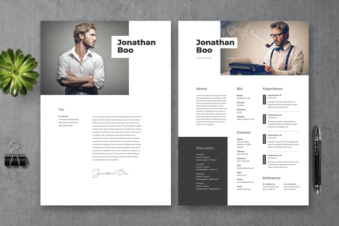 best photoshop resume templates with modern designs theme organized template resumes Resume Organized Resume Template