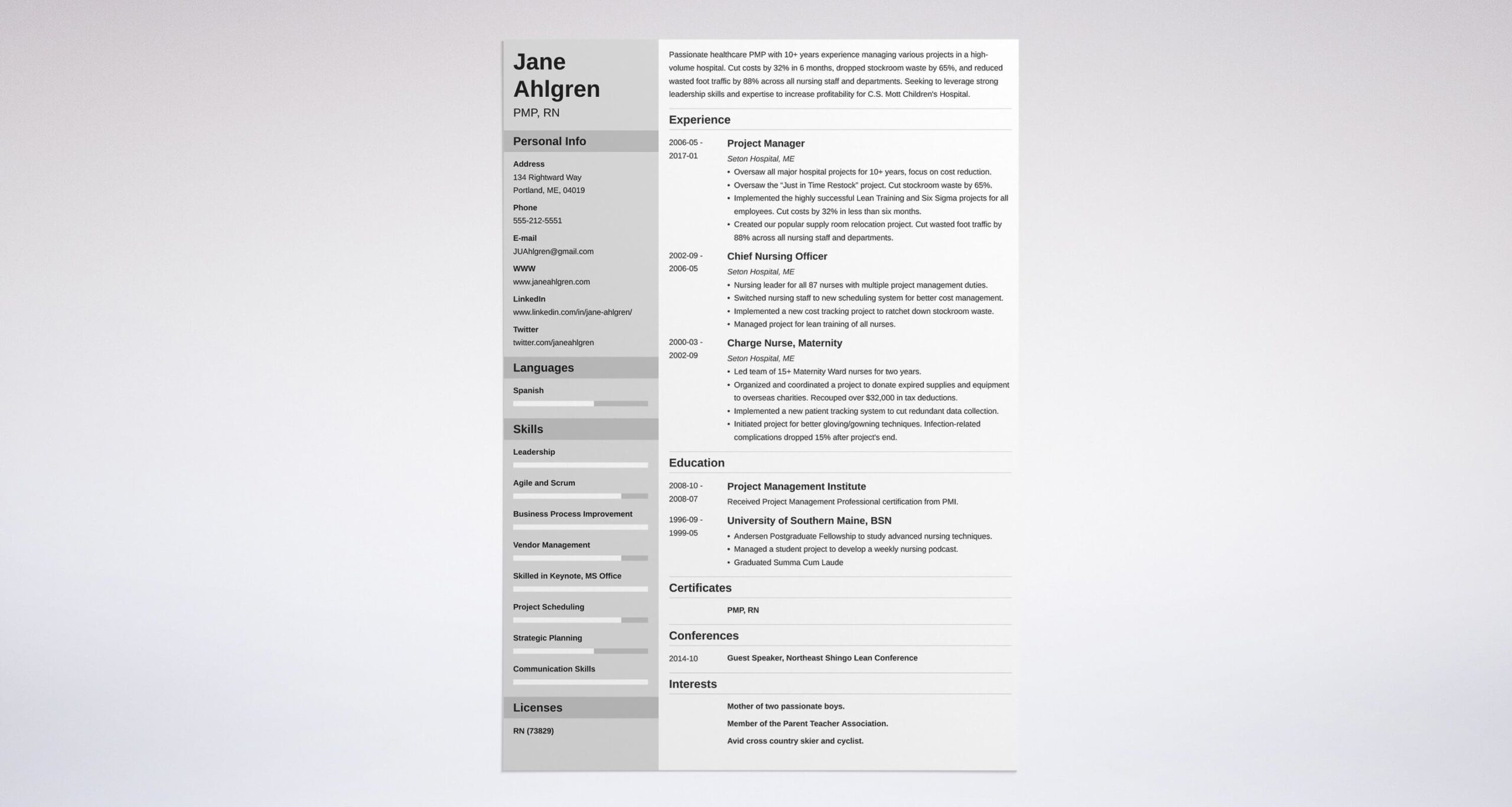 best project manager resume examples template guide example international development Resume Project Manager Resume Examples 2018